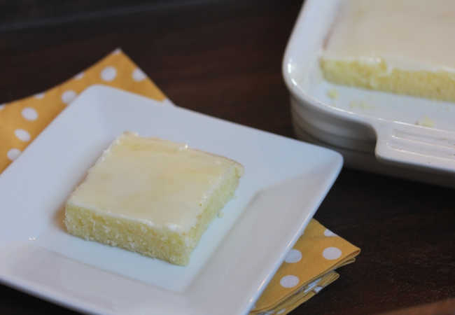 Gluten Free Lemon Brownies-