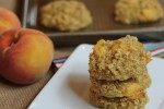 Peaches and Cream Oatmeal Breakfast Cookies