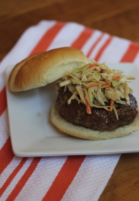 Pork Burgers with Asian Coleslaw_