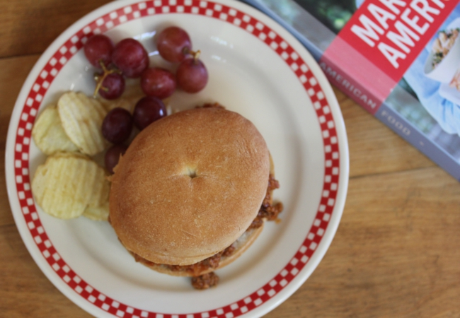 Sloppy Joes from Martha's American Food {Cooking Through My Collection}