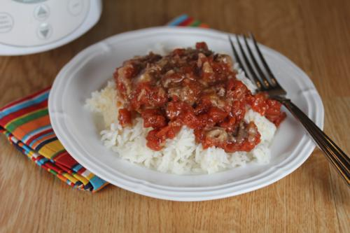 Slow Cooker Swiss Steak {Gluten Free}