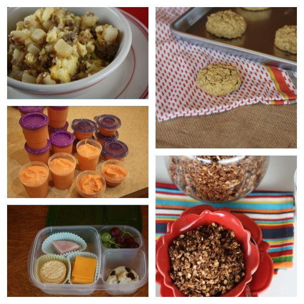 Gluten Free Back To School Breakfast and Lunch Ideas