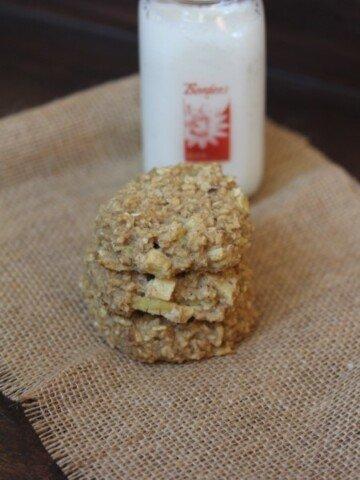 Apple Oatmeal Breakfast Cookie