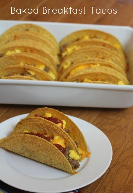 Baked Breakfast Tacos
