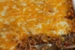 Beef Enchilada Rice Casserole_