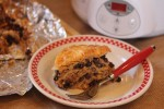 Easy Slow Cooked Mexican Lasagna