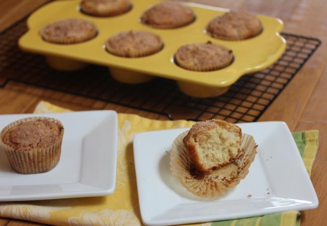 Gluten Free Apple Muffins-