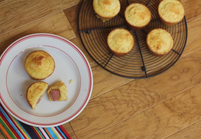 Gluten Free Corndog Muffins