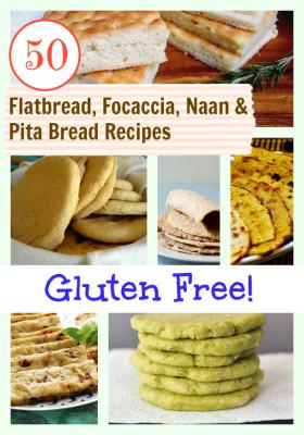 Gluten-Free-Flatbread-Focaccia-Naan-Pita-Bread-Recipes-