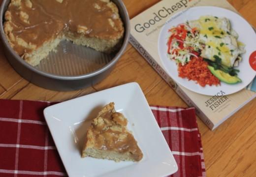 maple breakfast cake in pan