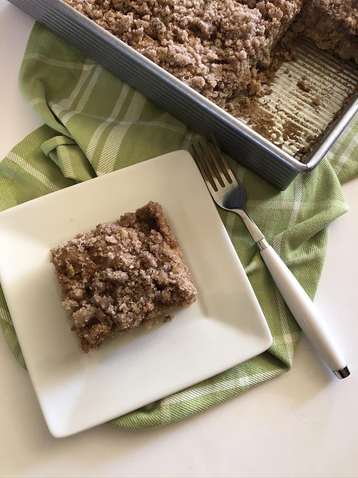 Mom's Apple Cake Recipe with gluten free option