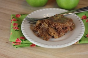 Moms Caramel Apple Cake 3