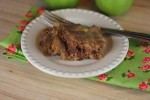Mom's Apple Cake with Caramel Sauce