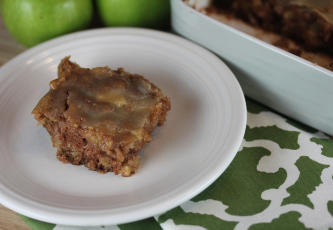 Moms Caramel Apple Cake Gluten Free