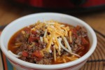 Slow Cooked Homemade Chili without Beans_