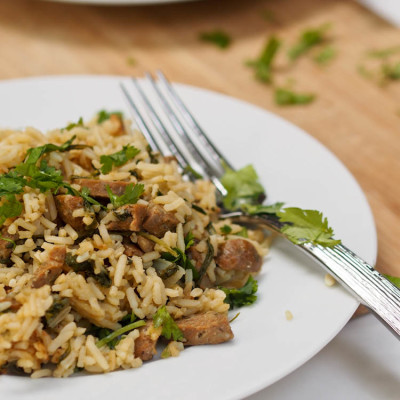 Spicy-Chicken-Sausage-Rice-Recipe
