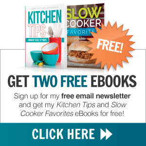 Subscribe to Lynn's Kitchen Adventures and get two free eBooks!