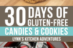 Gluten Free Cookies and Candy {30 Days of Christmas Recipes}