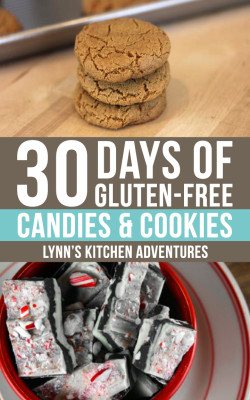 30 Days Gluten Free Candies and Cookies