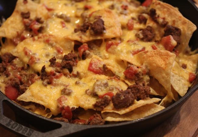 Chili Nachos-