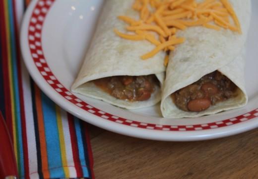 Easy 5 Ingredient Burritos-