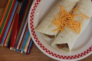 Easy 5 Ingredient Burritos