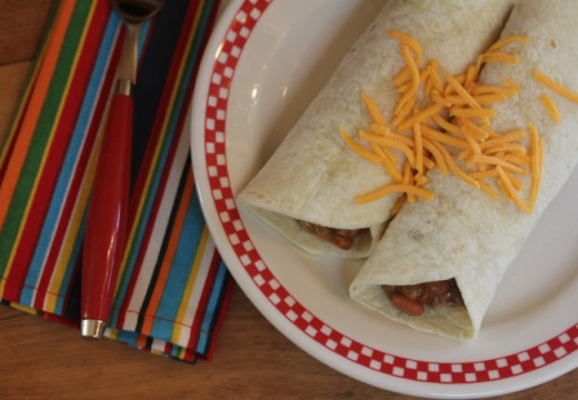 Easy 5 Ingredient Burritos_