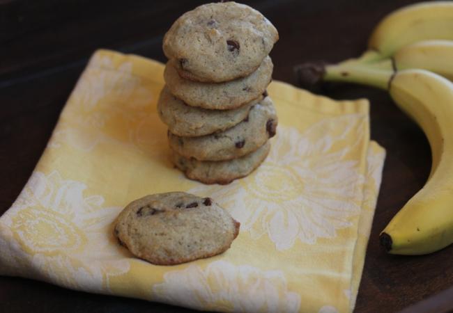 Gluten Free Banana Cookies-