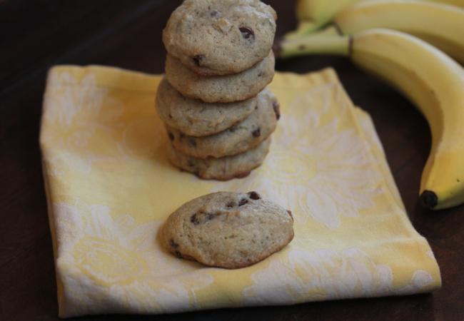 Gluten Free Banana Cookies_