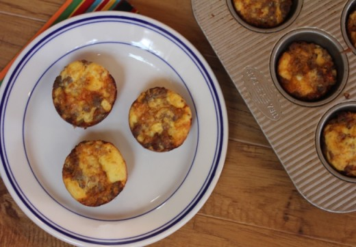 Incredibly Easy Breakfast Sausage Muffins-