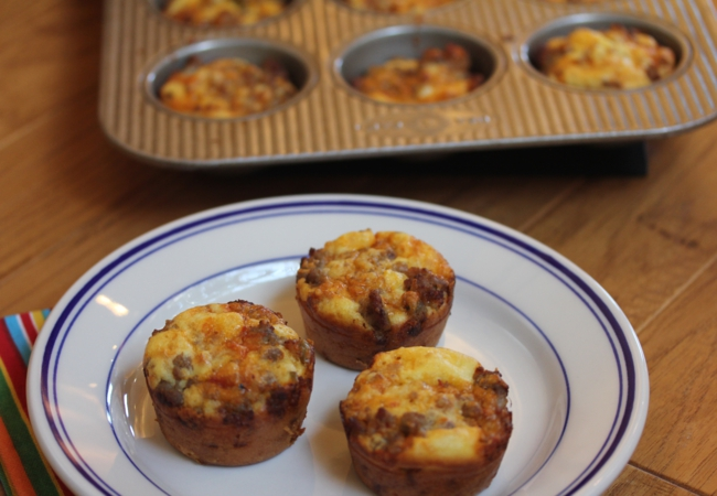 Incredibly-Easy Breakfast Sausage Muffins