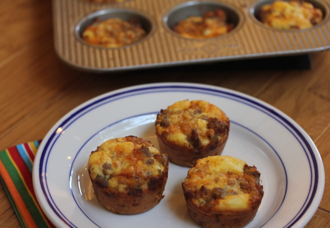 Incredibly Easy Breakfast Sausage Muffins_
