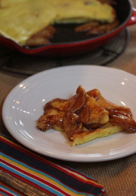 Oven Apple Pancake-