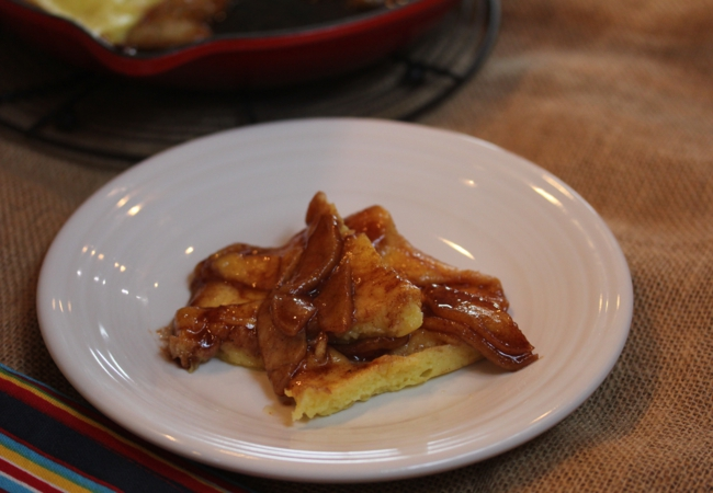 Oven Apple Pancake