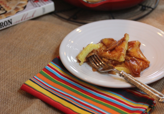 Oven Apple Pancake_