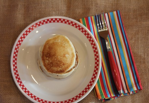 Overnight Bisquick Pancakes