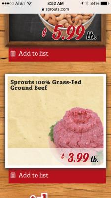 ground beef price