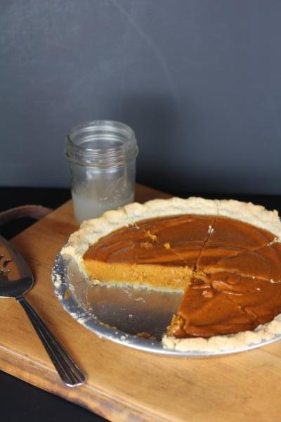 Dairy Free Pumpkin Pie__