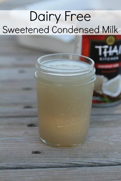 Dairy-Free Sweetened Condensed Milk