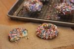 Easy Funfetti Doughnuts--