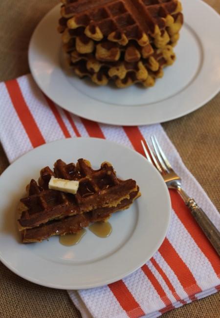 Easy Gluten Free Pumpkin Waffles_