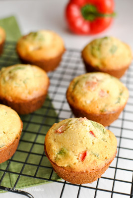 Gluten-Free-Breakfast-Muffins-with-Ham-Veggies-Recipe-Allergy-Free-Alaska
