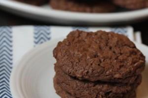 Gluten Free Chocolate Coconut Cookies-