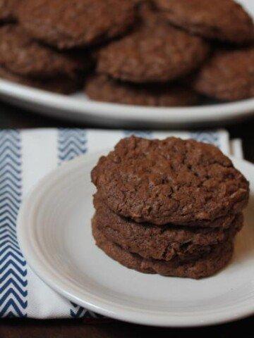 gluten free chocolate coconut cookies