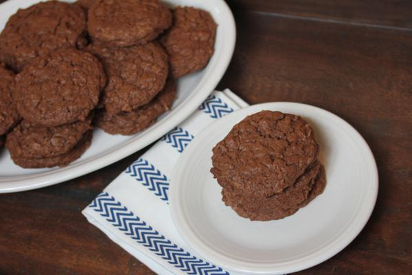 Gluten Free Chocolate Coconut Cookies