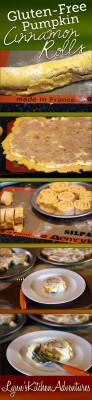 Gluten Free Pumpkin Cinnamon Rolls