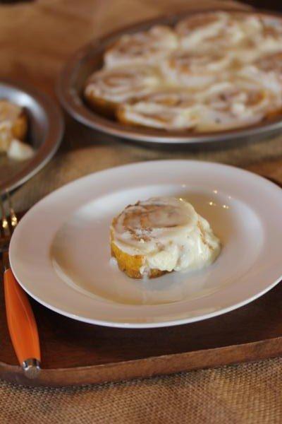 Gluten Free Pumpkin Cinnamon Rolls-