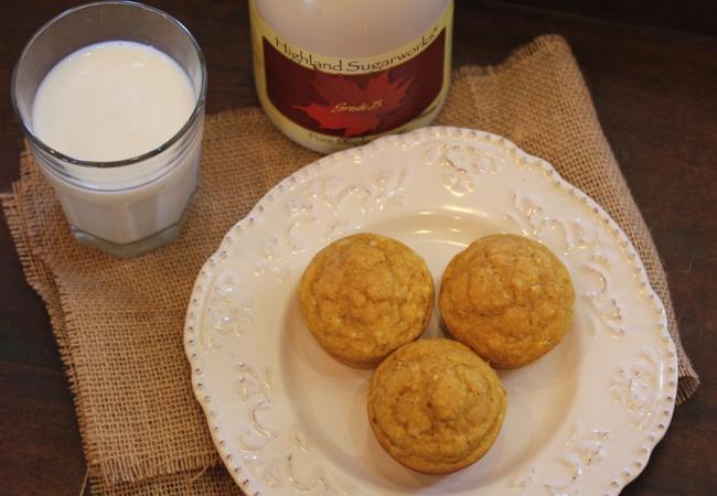 Pumpkin Pancake Muffins