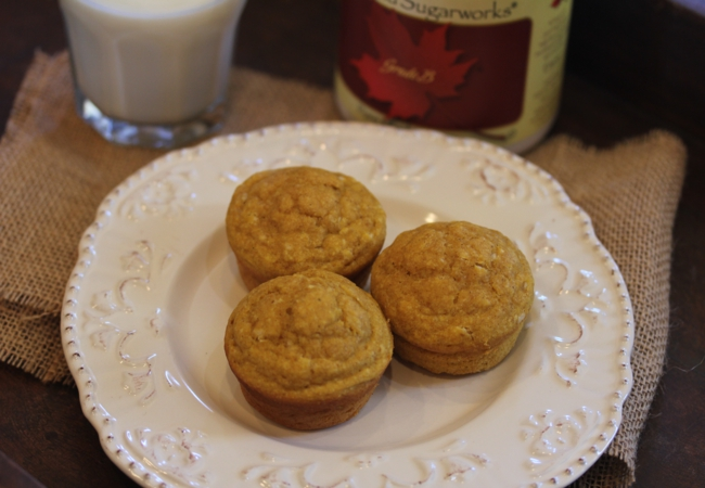 Pumpkin Pancake Muffins_