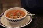 Stuffed Green Pepper Soup